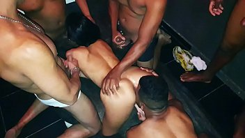 Brazilian Sexy Milf Hot Wife Dany Hot gangbang at home with 7 men - Full Video on Xvideos RED