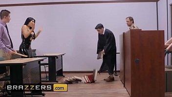Big Butts Like It Big - (Romi Rain, Jordi El, Nino Polla) - Judge Jordi Anal About Alimony - Brazzers
