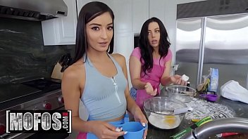 Share My BF - (Whitney Wright, Lucas Frost, Emily Willis) - Topless Baking - MOFOS