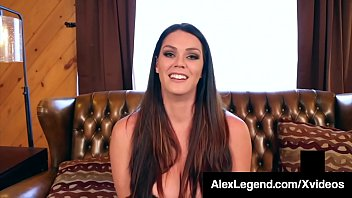 Busty Babe Alison Tyler Milks Big Dick Alex Legend!