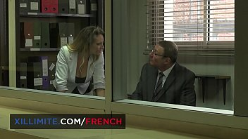 Sabrina Sweet French big boobs fucked by the boss