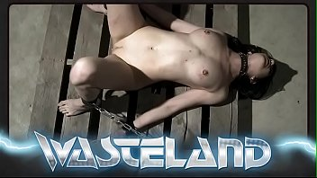 Bound Brunette Orgasmically Stimulated With Electricity And Vibrators