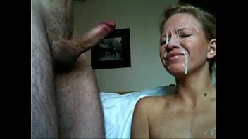cum in the face session