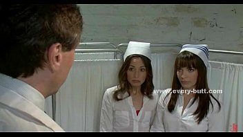 Naked doctor nurse - Nurses play innocent with doctor