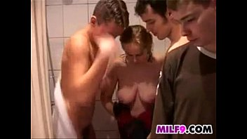 m. Banged By Young Guys After A Shower