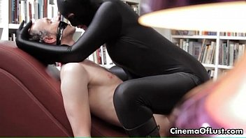 Sensual sex film with a girl in spandex