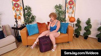 Super Thick Sara Jay Tongue Fucks Brunette BBW Fit Sidney! 6 min