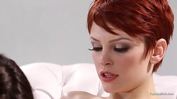 Redhead Gets More Than Foot Massage