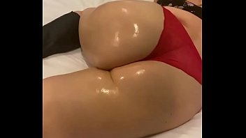 Her perfect oiled ass was fun  To penetrate