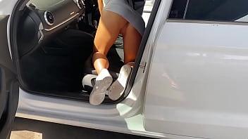 Wife public flashing car wash vacuum Instagram      hollymarie
