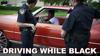Bad ass patrol Black patrol - he gets pulled over for dwb driving while black