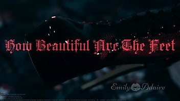 """TRAILER: How Beautiful Are The Feet - foot fetish cinematic artistic baroque music Emily Adaire TS high heels feet goth leather <span class=""""duration"""">30 sec</span>"""