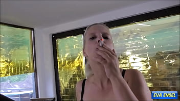 EVA ENGEL: Fuck my ass while I smoke a cigarette 7 min