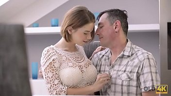 OLD4K. Old male and young colleen have dirty fun in expensive house porno izle