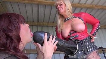 Fisting sissy - Horse cock