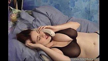 Breast natural large Black bra equals incredible tits