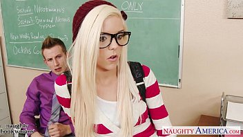 Jacks teen america 7 Geeky schoolgirl halle von fuck in classroom