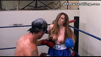 Wrestling strip video Maledom - lost bet strip fight