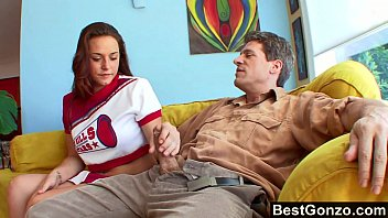 Nude college chearleaders - Chearleader pleases perverted old neighbor