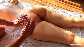 Naughty Hottie Gets Satisfied by a Masseur