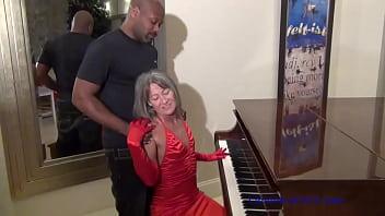 Piano Lesson - Milf Seduces BBC Piano Teacher