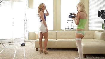 Casting threesome for amateur cutie 19 min