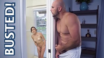 Dani Blu Catches Step Brother Jmac Spying On Her In The Shower