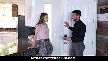 Fucking babysitter for cash - Mybabysittersclub - babysitter jillian janson fucked by huge cock