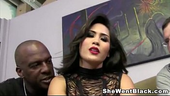 Fetish bangkok Jessica bangkok humiliates her cuckold husband with a big black cock