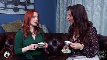 Neighbor MILF Double Creampie Syren De Mer & Lady Fyre Threesome 28 min