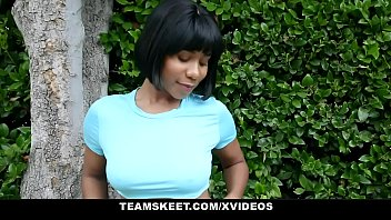 TeamSkeet - Beautiful Black Girl Gets Her Big Tits Fucked By BWC