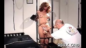 Darling is a nude beauty posing in a solo scene