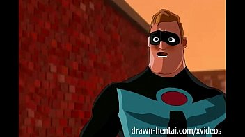Drawn lesbian bdsm - Incredibles hentai - first encounter