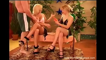 Two Swedish Blondes Getting Fucked 3some Fucking Moment