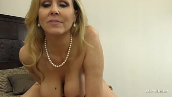 Potty Mouth Cougar Julia Ann Gives You The Ultimate Dick Milking POV! 5 min