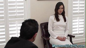 Mormon Teen Rubbing Clit