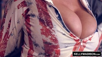 KELLY MADISON Red White and BOOBS