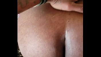 Sexy ebony let me hit from back