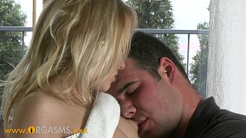 ORGASMS HD Sexy blonde coed intensely passionate for sex thumbnail