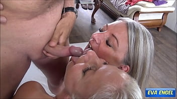 EVA ENGEL: Cock And Cum Sharing With My Girlfriend