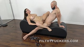 MILF Stepsister Gets Fucked By A Machine And Her Stepbrother
