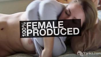 Yanks Blonde Karina Masturbating For Orgasm