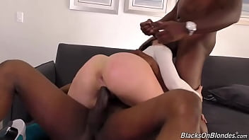 Mandy muse dp with two fat cocks