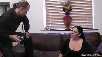 Chubby Picked Girl Rides His Meat