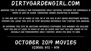 Dirtygardengirl OCTOBER 2019 NEWS: fisting prolapse giant toys extreme
