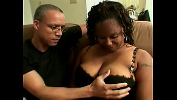 Black big beautiful woman Thickness in sexual lingerie is always glad to see her old friend