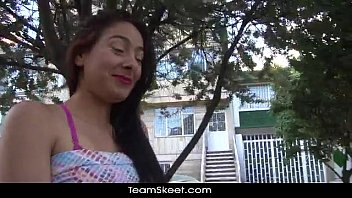 Teens are troublemakers Oyeloca small tits latina teen arelis lopez shaved pussy fucked