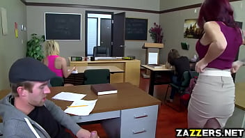 Classes for adults michigan - Hot teacher rides her pussy on top of students big cock