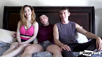 Collin FILLS Joel Mouth With CREAMY CUM And Then SPITS It On His Dick For Nala