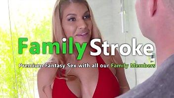 Big Ass Latina MILF and Son Bangs: Full HD FamilyStroke.net